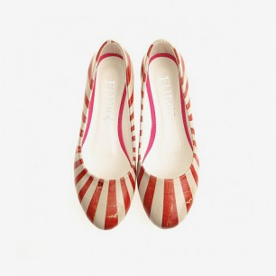 Ballerina Pumps Stripe