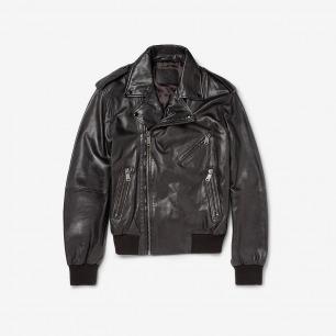 Alexander McQueen  男士皮革夹克