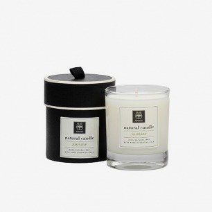 natural candle jasmine