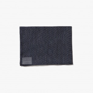 fog linen work 平织亚麻餐布-blue navy stripe