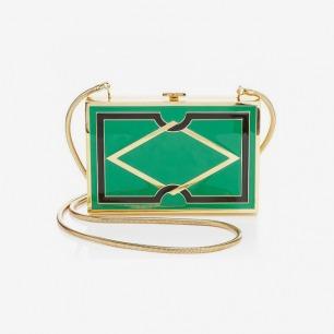 Lena Erziak 绿色手拿包