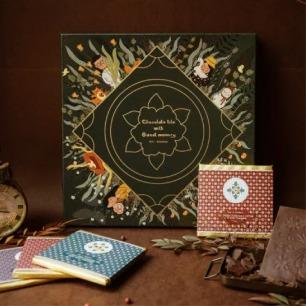 花砖巧克力礼盒   可以吃的花砖艺术