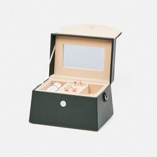 黄金分割两用梯形首饰盒 | 随身携带 便于收纳 三色可选