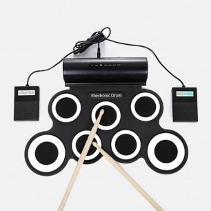 手卷便携式电子鼓2.0升级版   不占空间 支持全网电子游戏 长达10h续航