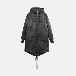 回型间线保暖棉衣 | 男装设计品牌
