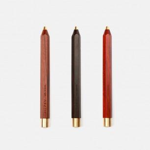 童心笔+实木底座 | 黄铜实木【多款可选】