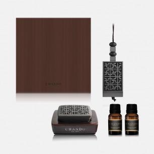 灰色高雅·男款香氛礼盒 | 醇厚性感的木质香调