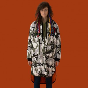 迷彩羽绒服 | 藏文化原创设计 精致刺绣