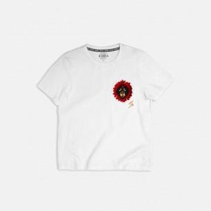 藏獒纯棉黑白情侣款T恤-女士 | 原创设计 自由张扬【两色】