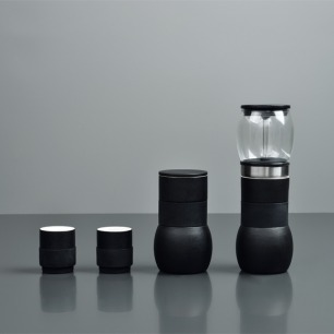 便携手冲+冰滴精品咖啡壶 | 德国IF奖 中国好设计奖