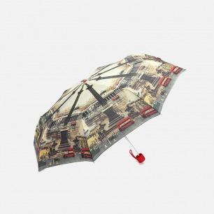 三折口袋伞 小巧便携 | 英国国家美术博物馆联名款