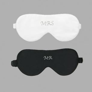Mr.&Mrs.情侣眼罩 | 白色情人节限定款