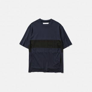 侧缝插袋半袖T恤   新款Maze系列新卫设计