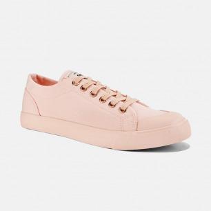 低帮帆布鞋-情侣款粉色   众多明星网红推荐男女同款