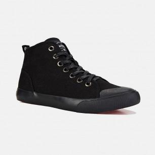 高帮帆布鞋-黑色   众多明星网红推荐