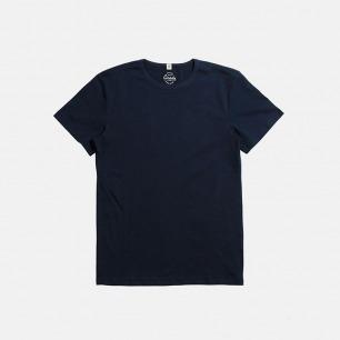全棉复古运动蓝T恤 | 美式经典款 舒适修身