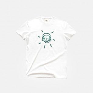 男款全棉T恤 黑色幽默大笑脸 | 印花原创设计夏日必备单品