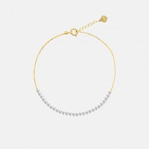 迷你珍珠精致18k金手链 | 小巧时尚的轻奢装扮