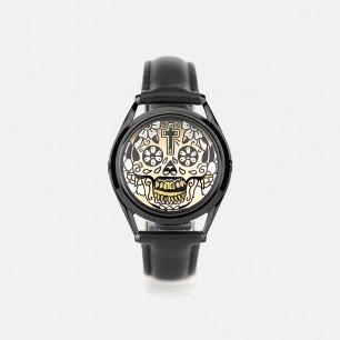 Gilded Skull手表  | 英伦风原创设计 创意潮牌