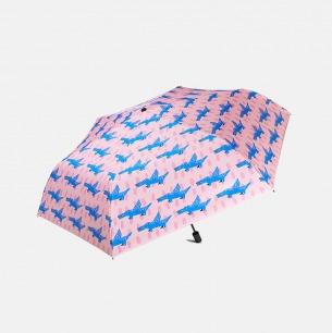 OWNU联名涂鸦伞-晴雨两用 | 孩子画的狗和鳄鱼印在伞上 童心不泯
