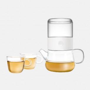 π杯分享套装 茶杯茶壶玻璃壶 | 一壶两杯 乐在分享 茶器中自成一π