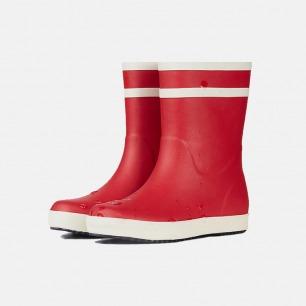 简约双白条儿童雨鞋雨靴 | 再也不怕雨天湿了鞋 经典款雨天战靴