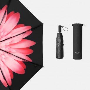 高效防晒小黑伞 晴雨两用   双层伞布防晒 轻盈随身