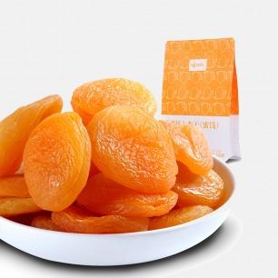 甜软厚实的新疆杏干   树上风干的原果 甜香可口