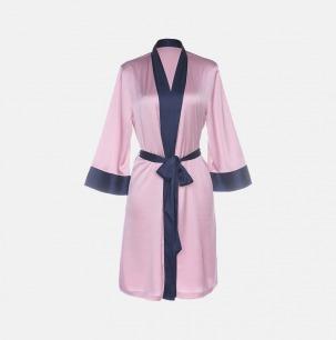 戚薇同款和风系带睡袍 | 意大利奢华精致家居服