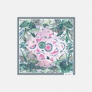 柔软轻盈又好看的真丝丝巾 | 面料不易起皱 轻奢又优雅