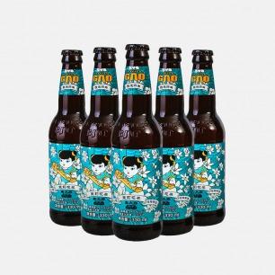 茉莉花茶拉格啤酒 24瓶 | 以茶入酒 风味清香超好喝
