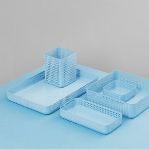 北欧简约多用途收纳盒 | 镂空设计 美观时尚