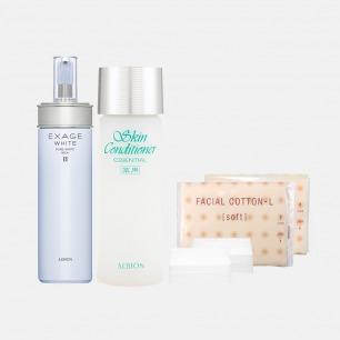健康水+清新焕白渗透乳套装 | 先乳后水 嫩肤亮白又保湿