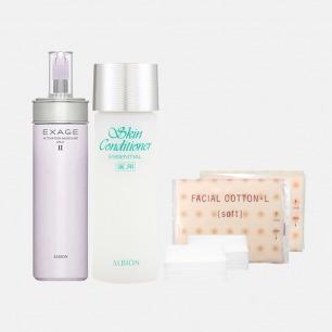 健康水+清新活润渗透乳套装 | 先乳后水 水润柔嫩又保湿