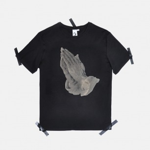 男士丢勒祈祷的手 T恤 | 原创设计师品牌 舒适透气 柔软不变形