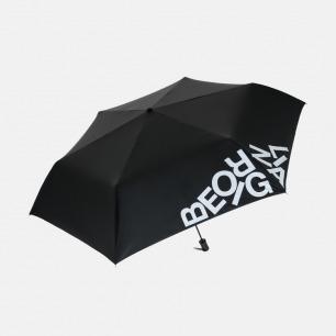 字母标语三折黑胶晴雨伞 | Be Original 做自己