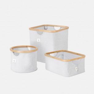 简约竹收纳篮 三款可选 | 收纳小物也可以井然有序