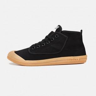 黑色高帮帆布鞋-男女同款   澳大利亚国民运动鞋