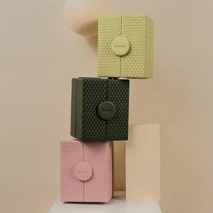 墨镜收纳盒 可伸缩设计 | 外观设计优雅 共三款颜色