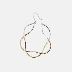 Infinity无限永恒花型耳环 | 无穷符号为原型 打造个性