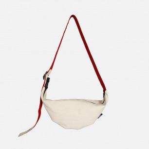 新月帆布挎包 | 极简廓形小潮包 随身自然