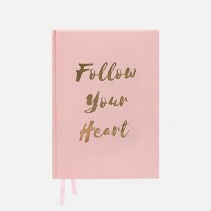 PU淡粉笔记本 | 满满少女心的粉色文具