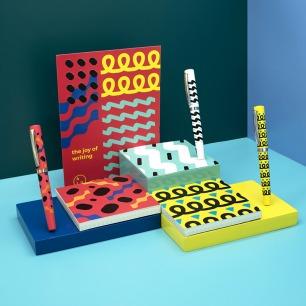 波普艺术钢笔礼盒 | 钢笔+笔记本+明信片套装