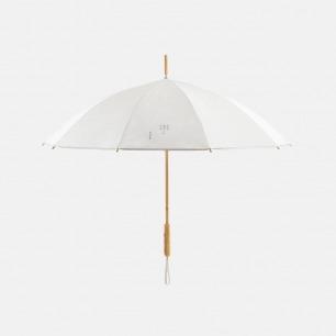 竹柄杜邦纸长柄伞 合作款 | 伞面材质质感佳 半竹伞架