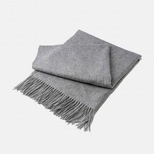 纯色百搭的柔软羊毛披肩 | 舒适亲肤 纯羊毛质感舒适