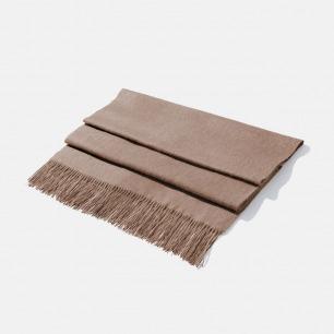 优雅知性的羊绒披肩 | 舒适细腻 温和亲肤