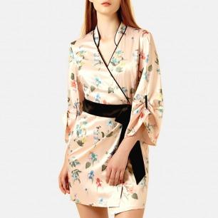 浪漫风情度假风晨服睡袍 | 设计优雅大方 慵懒迷人
