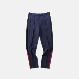 复古拼接锥型长裤 男女同款   休闲与运动的完美结合