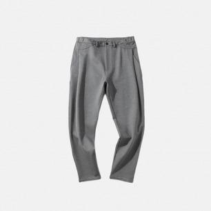 褶皱设计锥型长裤 男女同款   百搭休闲 宽松版型巨显瘦