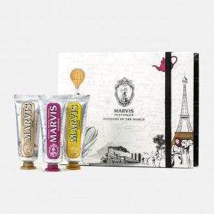 世界奇观限量版牙膏礼盒装 | 牙膏中的爱马仕 定制款